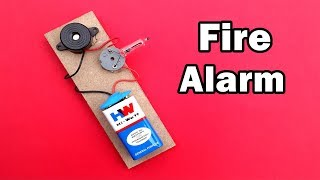 How to Make a Fire Detector with Alarm at Home - DIY