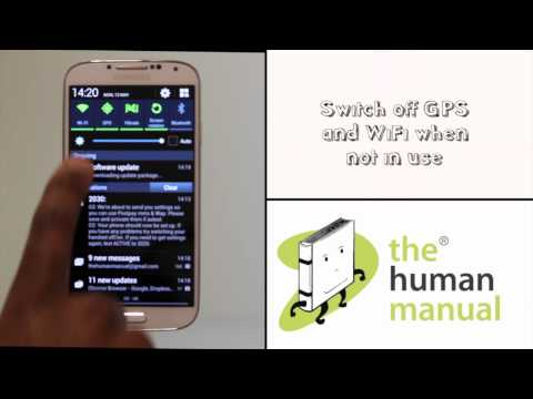 Setting up your Samsung Galaxy S4   Android tutorials   The Human Manual