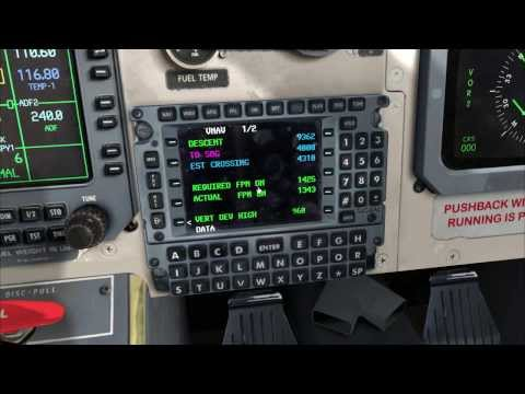 Jetstream 41: Basic FMC programming {FSX}