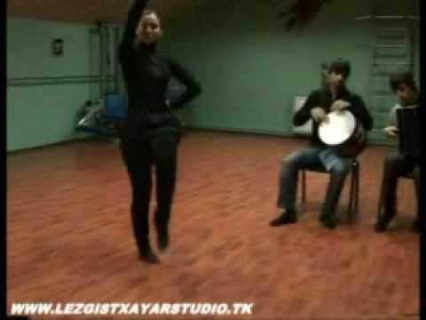 Уроки лезгинки для девушек (часть3)