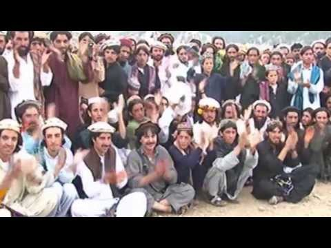 North Waziristan Tribal Warrior Dance (known as 'Attan' in local language)