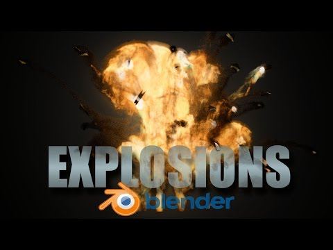 Create Realistic  Explosions! - Blender Cycles Tutorial