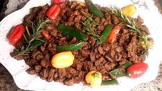 How to make Gored Gored - Ethiopian Food