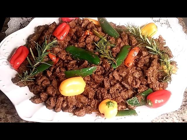 Ethiopian Food Sauteed Beef/Tibs