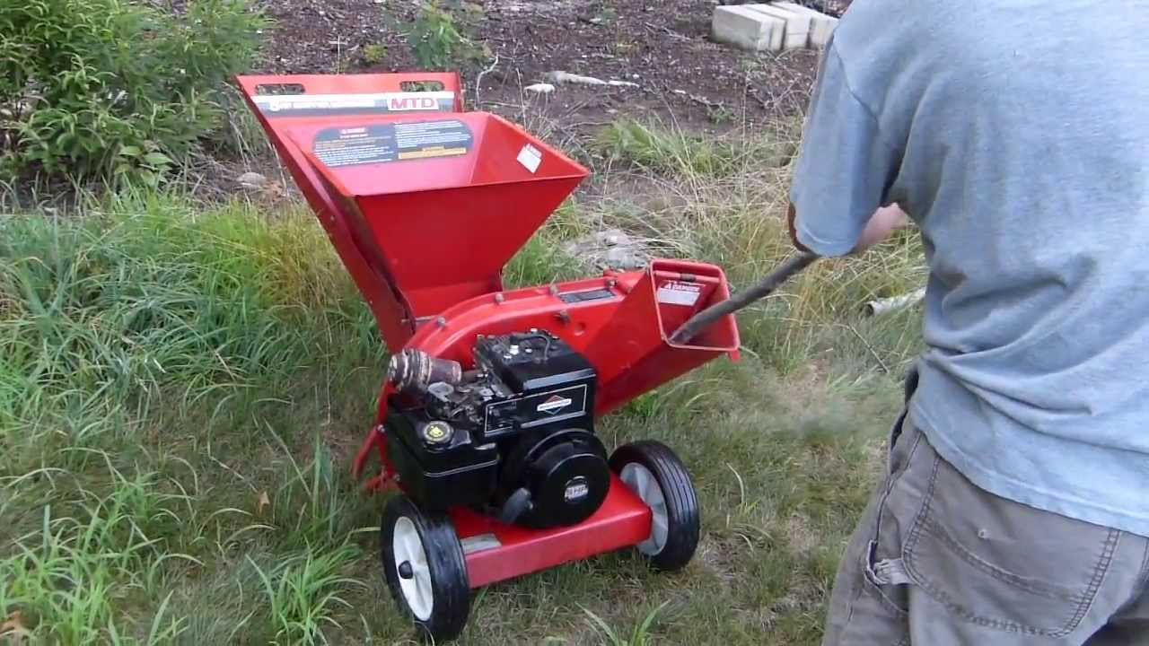 yard machine chipper shredder 5 5 hp manual