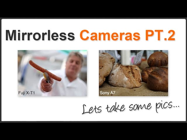 Photography Tips: Mirror-less Interchangeable Lens Cameras PT.2