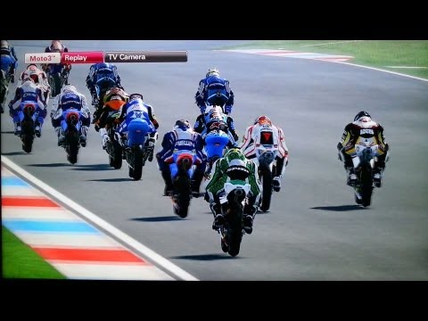 Motogp 2013 moto3 ASEEN game play video review