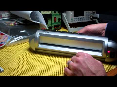 Toner Transfer for DIY PCB - using a laminator