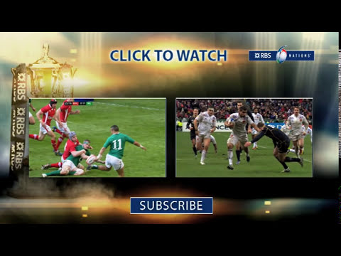 RBS 6 Nations Best Tackles Compilation