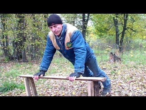 Видео как научиться отжиматься с нуля