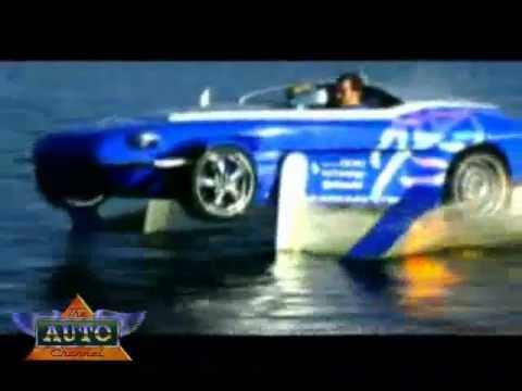 Rinspeed Splash: Sports Car & Speed Boat Video