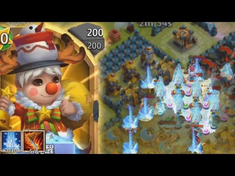 Castle Clash LIL NICK Gameplay (Evolved. lvl 200. 7/10)
