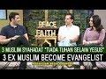 3 Muslim syahadat 'Yesus Tuhan' Masuk Kristen Jadi Penginjil