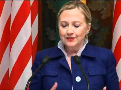 Secretary Clinton Discusses Current Situation in Syria
