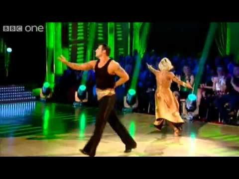 Joe Calzaghe and Kristina Rihanoff dance the Paso Doble Strictly Come Dancing 2009.