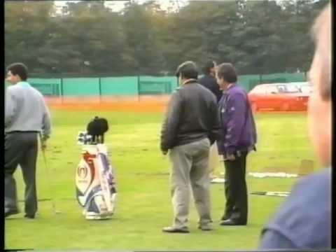 Toyota World Match Play Golf 1992 - Wentworth Practice Ground - Part One (Olazabal, Ballesteros)