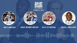 UNDISPUTED Audio Podcast (10.09.19) with Skip Bayless, Shannon Sharpe & Jenny Taft | UNDISPUTED