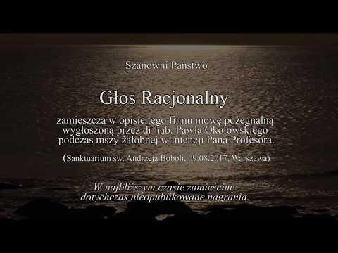 Bogusław Wolniewicz - Pożegnanie, Warszawa, 09.08.2017