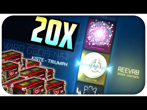 Entspanntes 20x Triumph Crate Opening!   Rocket League