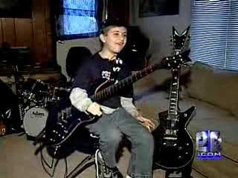 8-Year-Old Guitar Prodigy Stuns Audiences