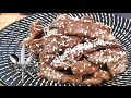 Beef Bulgogi (불고기 Korean Cuisine) - Video Recipe