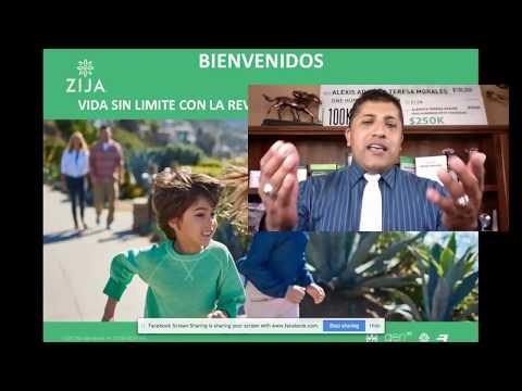 ZIJA PRESENTACION DE OPORTUNIDAD ZIJA GENTE AYUDANDO A GENTE CON ALEXIS ADAME JULIO 3 DE 2018