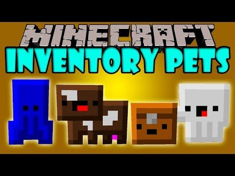 INVENTORY PETS MOD - Mascotas Kawaiis de Inventario! - Minecraft mod 1.7.10 Review ESPAÑOL