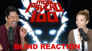 BLIND REACTION!! MOB PSYCHO EPISODES 1,2&3 !!! +REVIEW~~