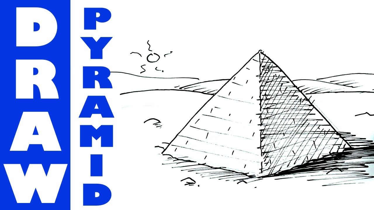 how to make a pyramid that opens