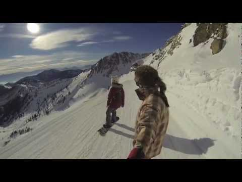Snowboarding with a Gopro Hero3 Black