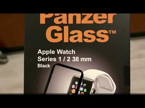 Product review Panzerglass for Apple Watch series 1+2