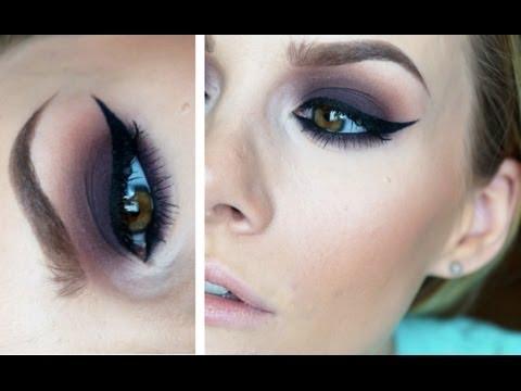 Purple Smoke ♡ Dark Purple Makeup Tutorial