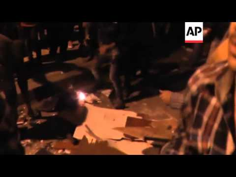 Muslim Brotherhood office stormed in second city, more clashes in Cairo