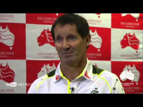 Robbie Deans on the British & Irish Lions Squad Announcement