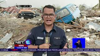 Live Report Perkembangan Hari Terakhir Evakuasi Kota Palu   NET12