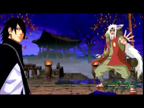 Naruto The Last - Sasuke El Camino Ninja Sucesor Mensajero De Jiraiya   World Tros