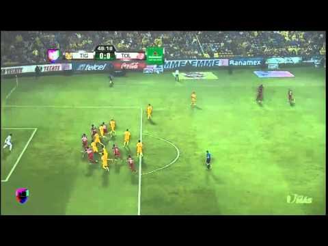 4 de final Copa Mx Tigres 2-0 Toluca