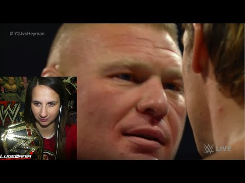 WWE Raw 12/15/14 Brock Lesnar returns and F5s Jericho Live Commentary