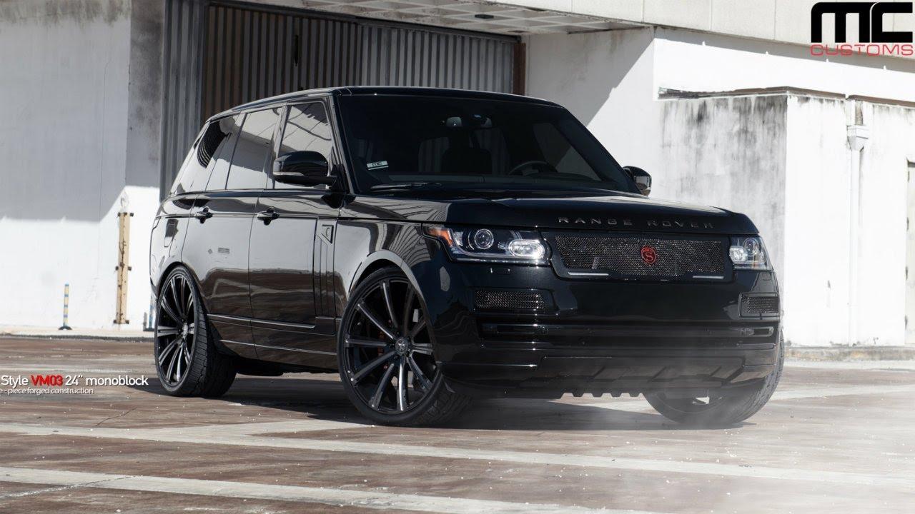Mc Customs Vellano Wheels Range Rover Youtube