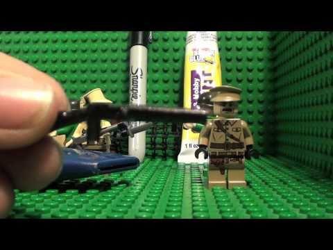 How To Make Lego Double Barreled Shot Gun TheLegoManiacs