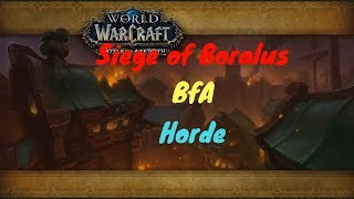 World of Warcraft: The Siege of Boralus - Horde (Fairly unedited)