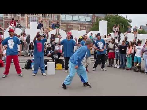 Street dance in Amsterdam / Уличные танцы из Амстердама
