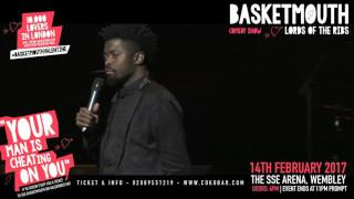 BASKETMOUTH - @basketmouth LIVE AT THE SSE ARENA WEMBLEY Valentines Day