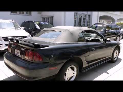 Pre-Owned 1996 Ford Mustang Santa Monica CA 90403
