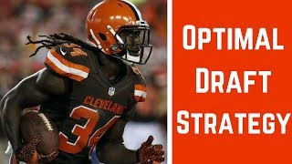2017 Fantasy Football - The Best Draft Strategy For Standard Scoring
