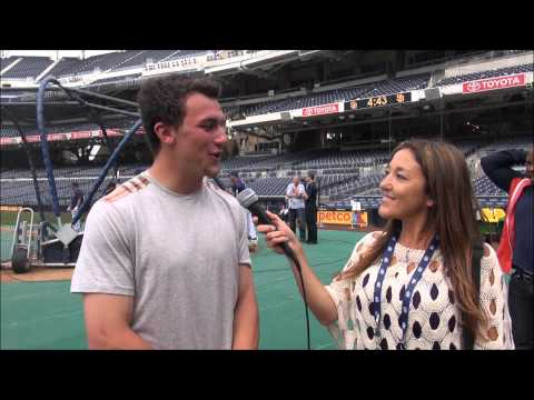 Johnny Manziel on Fame, Perception, George Whitfield & BP at Petco Park