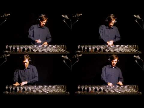 Canon in D on glass harp