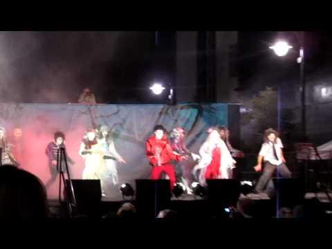 Thriller Performance on Lancaster Blvd.