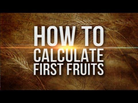 Time: Our Creator's Calendar - How To Calculate First Fruits - 119 Ministries