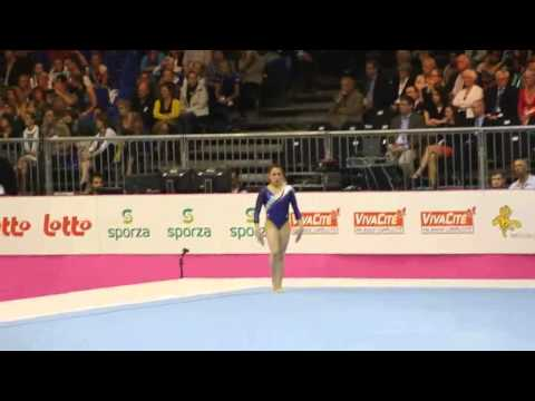 Vanessa FERRARI ITA, Floor, Team Final, European Gymnastics Championships 2012